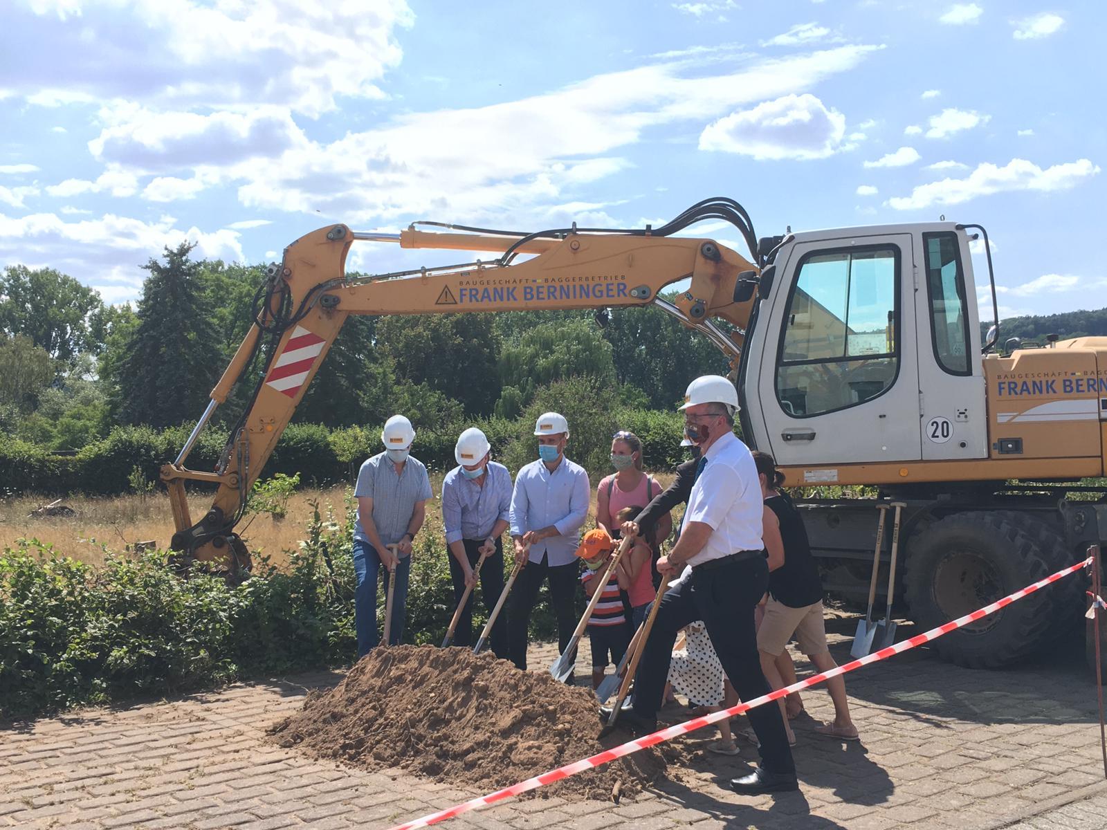 Spatenstich für Neubau Kindertagesstätte in Erlenbach